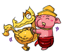 Little Kailash : Brother sticker #1542266