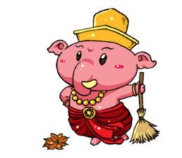 Little Kailash : Brother sticker #1542276