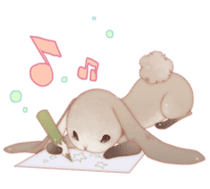 KAWAII Animal babys sticker #1544143