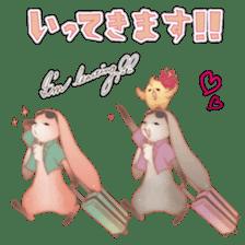 KAWAII Animal babys sticker #1544154