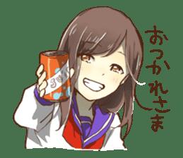Lover of High school girl sticker #1545268