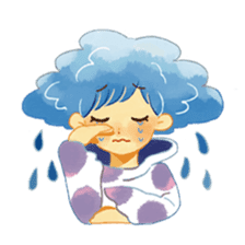 Weather people stamp sticker #1547954