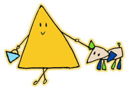 Easy triangle sticker #1548028
