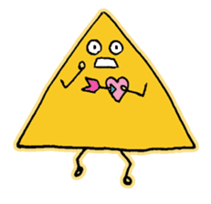Easy triangle sticker #1548055