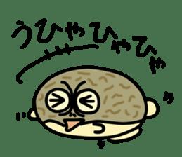 Peetarou of Namaqua Rain Frog sticker #1549257