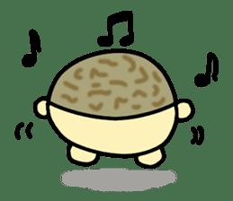 Peetarou of Namaqua Rain Frog sticker #1549259