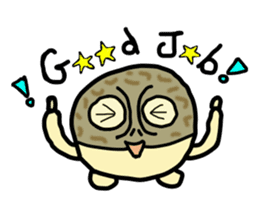Peetarou of Namaqua Rain Frog sticker #1549261