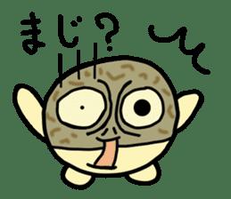 Peetarou of Namaqua Rain Frog sticker #1549264