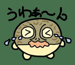 Peetarou of Namaqua Rain Frog sticker #1549266