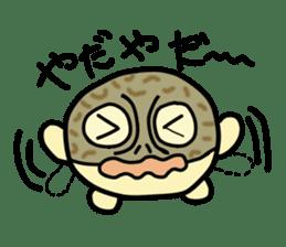 Peetarou of Namaqua Rain Frog sticker #1549268
