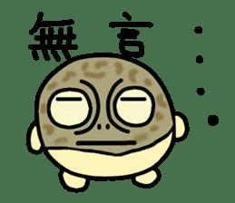 Peetarou of Namaqua Rain Frog sticker #1549270