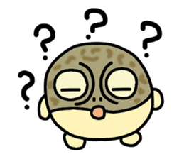 Peetarou of Namaqua Rain Frog sticker #1549274