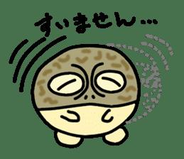 Peetarou of Namaqua Rain Frog sticker #1549275
