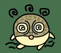 Peetarou of Namaqua Rain Frog sticker #1549278