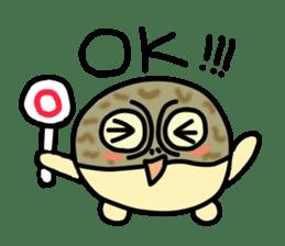 Peetarou of Namaqua Rain Frog sticker #1549279