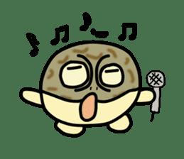 Peetarou of Namaqua Rain Frog sticker #1549285