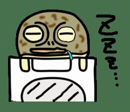 Peetarou of Namaqua Rain Frog sticker #1549286