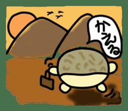 Peetarou of Namaqua Rain Frog sticker #1549292