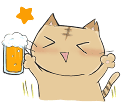 Tipsy Cats sticker #1549816