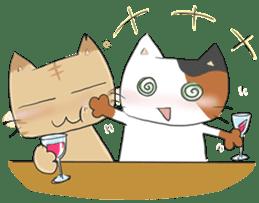 Tipsy Cats sticker #1549819