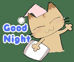 Tipsy Cats sticker #1549829