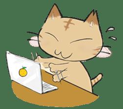 Tipsy Cats sticker #1549841