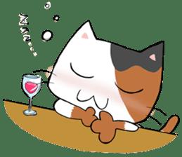 Tipsy Cats sticker #1549844