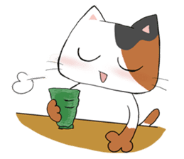 Tipsy Cats sticker #1549848