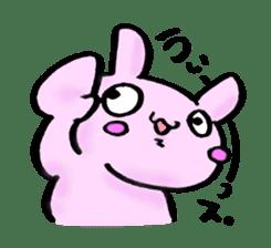 Lovely rabbit Uzaki sticker #1551234