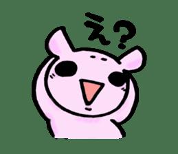 Lovely rabbit Uzaki sticker #1551236
