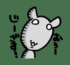 Lovely rabbit Uzaki sticker #1551238