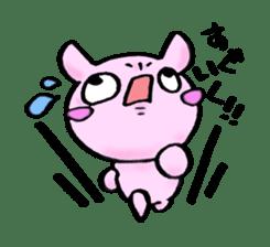 Lovely rabbit Uzaki sticker #1551242