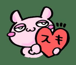Lovely rabbit Uzaki sticker #1551254