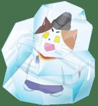 Court noble cat NYANMARO 2 sticker #1551418