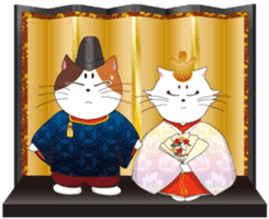 Court noble cat NYANMARO 2 sticker #1551419