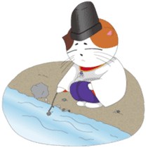 Court noble cat NYANMARO 2 sticker #1551430