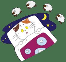 Court noble cat NYANMARO 2 sticker #1551446
