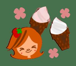 """ichigo-clover """"sweets land"""" sticker #1552671"""