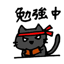 Cat cute and fun sticker #1554592