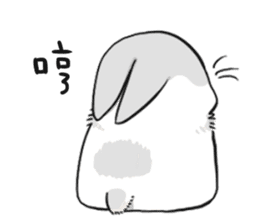 Machiko rabbit sticker #1556298