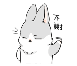 Machiko rabbit sticker #1556303