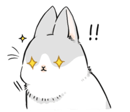Machiko rabbit sticker #1556305