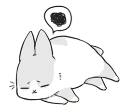 Machiko rabbit sticker #1556316