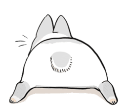 Machiko rabbit sticker #1556317