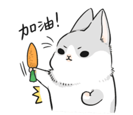 Machiko rabbit sticker #1556319