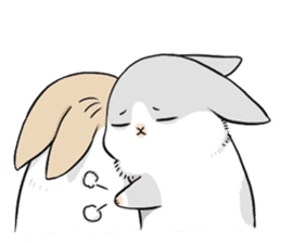 Machiko rabbit sticker #1556329