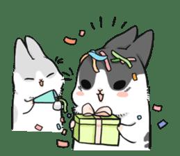 Machiko rabbit sticker #1556333