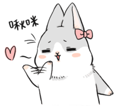 Machiko rabbit sticker #1556334