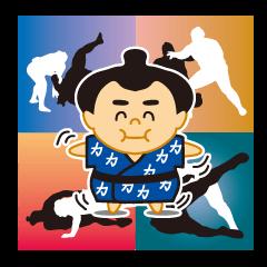 Everyday of sumo wrestlers