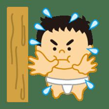 Everyday of sumo wrestlers sticker #1558218
